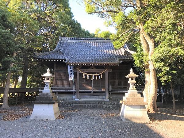 家康御陣場跡(八幡神社本殿)