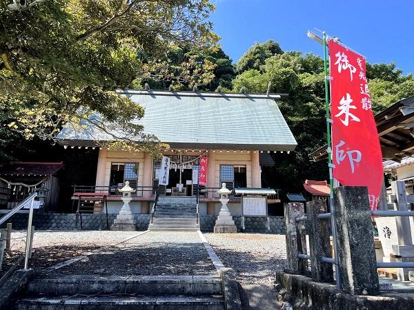 片岡神明宮(本殿)